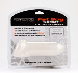 PERFECT FIT FAT BOY EXTENDER SPORT 6.5IN CLEAR