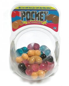 Pocket Boobies Display - Tub of 30