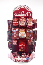 SCREAMING O DELUXE SPINNING DISPLAY