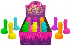 (WD) PENIS SHOOTER NEON 12PC DISPLAY