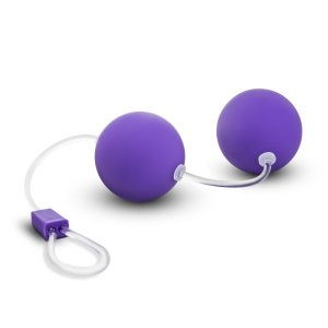BE YOURS BONNE BEADS WEIGHTED KEGEL BALLS PURPLE