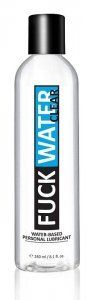 FUCK WATER CLEAR WATER BASED LUBRICANT 8 OZ