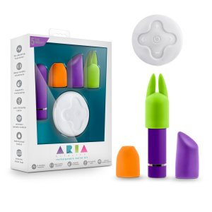 ARIA VITALITY PLUM BULLET KIT RECHARGEABLE WITH REMOTE