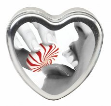 CANDLE 3-IN-1 HEART EDIBLE MINTASTIC 4.7 OZ