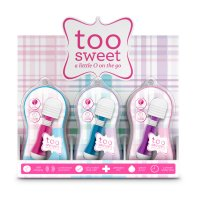 VIVE TOO SWEET PDQ/POS DISPLAY 12 PCS ASSORTED