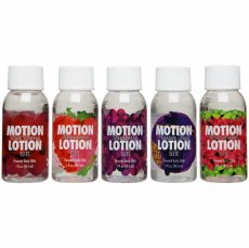 (D) MOTION LOTION ELITE 5 PACK SAMPLER 1 OZ