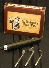 DR CLOCKWORK VIOLET WAND KIT PURPLE ELECTRODE