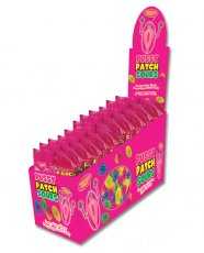Pussy Patch Sours Candy Display - Asst. Flavors Bag Display of 12