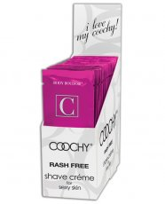 COOCHY SHAVE CREAM FROSTED CAKE 24PC DISPLAY