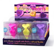 NAUGHTY CANDY HEARTS 9PC DISPLAY