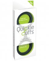 Quickie Cuffs Large - Black