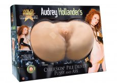 WILDFIRE CELEBRITY SERIES AUDREY HOLLENDER CYBERSKIN PUSSY & ASS
