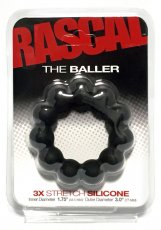 RASCAL STARTER KIT BALLER COCK RING BLACK