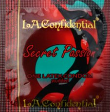 (WD) L.A. CONFIDENTAL SECRET PASSION 12PK LATEX CONDOMS