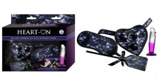 HEART-ON DELUXE HARNESS KIT W/ STRAIGHT DONG PURPLE