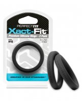 Perfect Fit Xact Fit #16 - Black Pack of 2