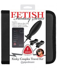 Fetish Fantasy Series Shock Therapy Kinky Couples Travel Kit