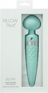 PILLOW TALK SULTRY ROTATING WAND TEAL
