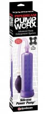 PUMP WORX SILICONE POWER PUMP PURPLE