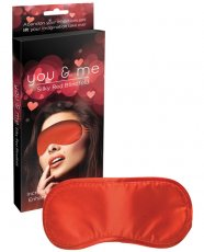 You & Me Silky Red Blindfold
