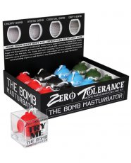 Zero Tolerance The Bomb Grenade Stroker Display - Asst. Colors Display of 12