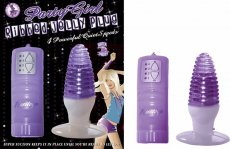 (WD) PARTY GIRL RIBBED JELLY P PURPLE
