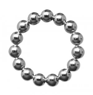 MASTER SERIES STAINLESS STEEL BEADED COCKRING 2IN