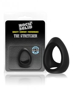 Rock Solid Stretcher Black Silicone