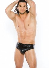 ZEUS MENS WETLOOK BRIEF