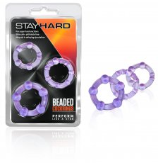 STAY HARD COCKRINGS PURPLE