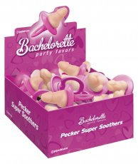 BACHELORETTE DICKY SUPER SOOTHERS(24PC DISP)