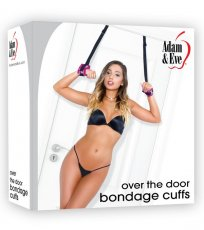 ADAM & EVE OVER DOOR BONDAGE CUFFS