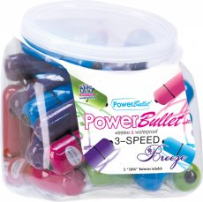 POWER BULLET 30PC BOWL ASST.