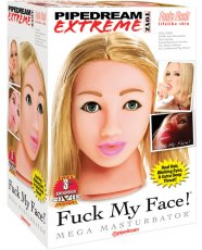 Pipedream Extreme Toyz Fuck My Face - Blonde