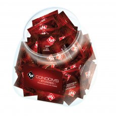 ID STUDDED CONDOM JAR 144PCS