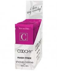 COOCHY SHAVE CREAM PEARBERRY 24PC DISPLAY