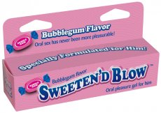 SWEETEN D BLOW BUBBLE GUM