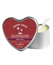 CANDLE 3 N 1 HEART PEEKABOO 4.7 OZ