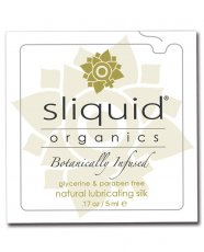Sliquid Organics Silk Lubricant - .17 oz Pillow