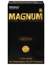 Trojan Magnum Condoms - Box of 12
