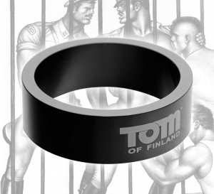 (WD) TOM OF FINLAND 50MM ALUMI COCK RING