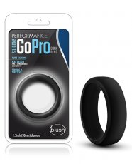 Blush Performance Silicone Go Pro Cock Ring - Black