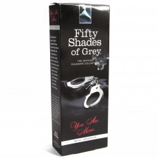 FIFTY SHADES METAL HANDCUFFS