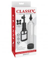 Classix Large Penis Enlargement Pump - Clear