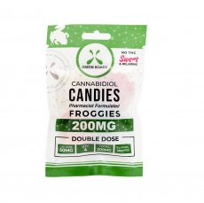 CBD EDIBLES 200MG FROGGIES (NET)