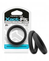 PERFECT FIT XACT-FIT #17 2 PK BLACK