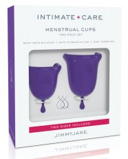 Jimmyjane Intimate Care Menstrual Cups - Purple