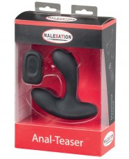 Malesation Remote Control Anal Teaser - 8 Functions Black