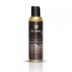 DONA KISSABLE MASSAGE OIL CHOCOLATE MOUSSE 3.75 OZ