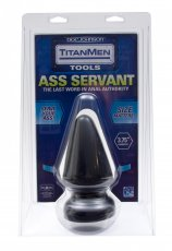 TITANMEN BUTT PLUG 3.75IN DIA. ASS SERVANT